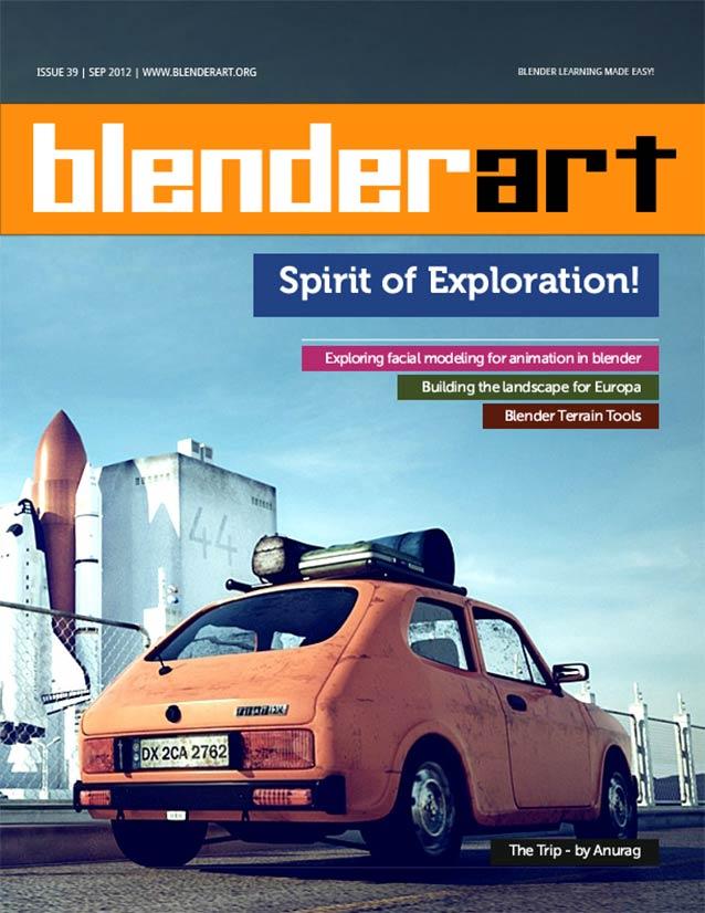 how to make visual vibration art with blender
