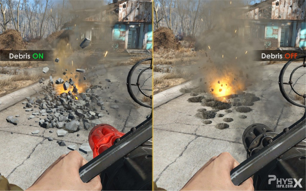 Fallout 4 beta patch adds Nvidia FLEX based particle ...