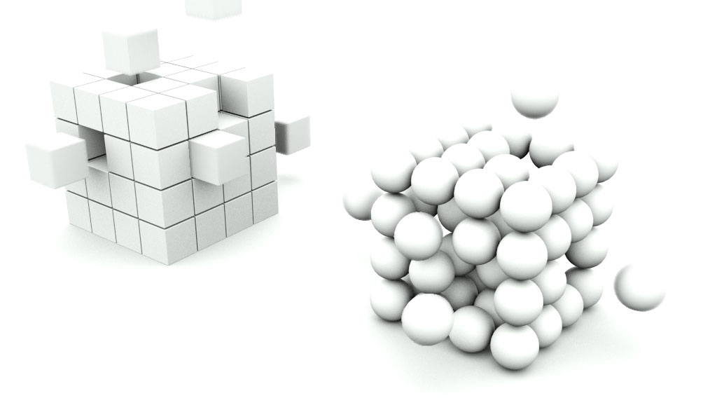 Explaining reflections and using array function in 3ds Max