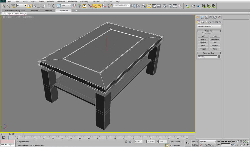 Modeling interior furniture in 3dsmax interior 3d for Interior modeling in 3ds max