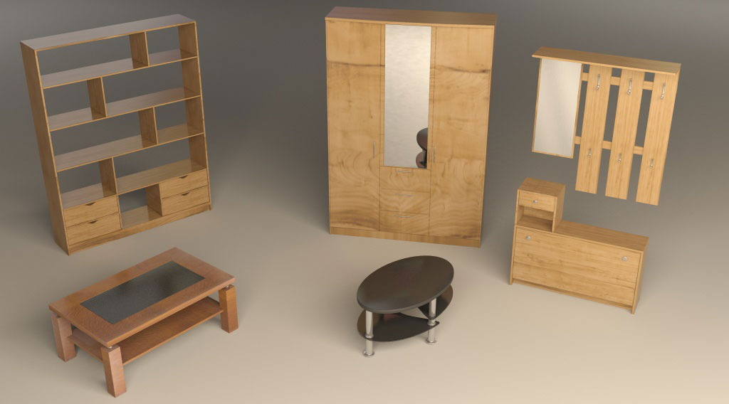 3ds max modeling modeling interior furniture in 3dsmax for Interior modeling in 3ds max