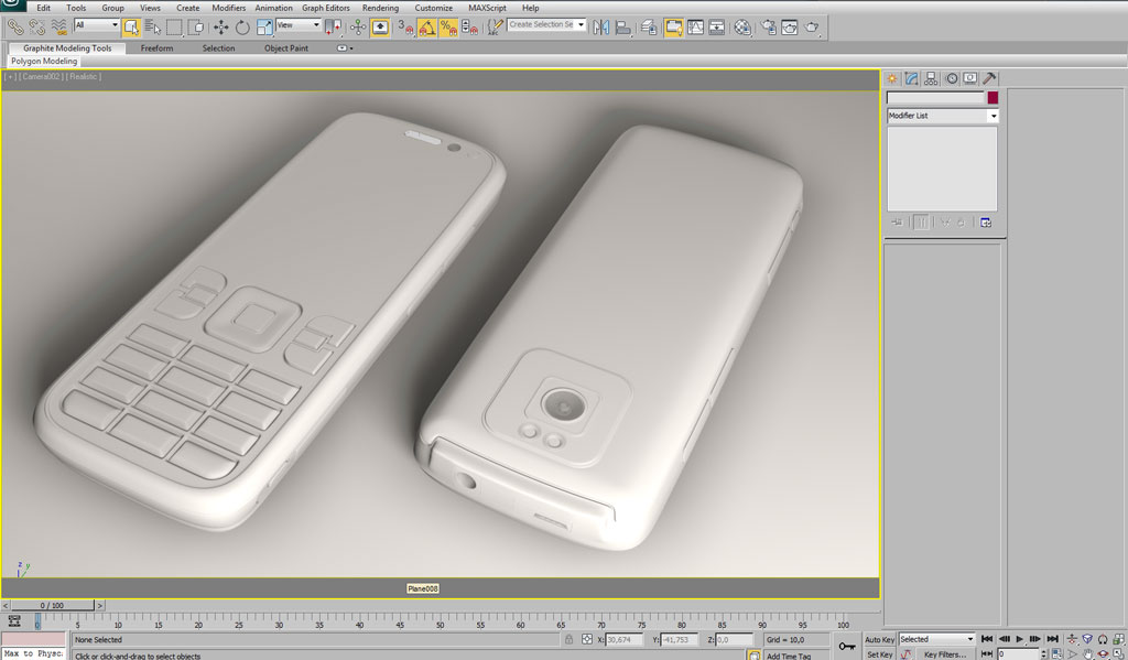 Modelling Nokia 5630 using 3ds max–Part 2 - Others - 3D