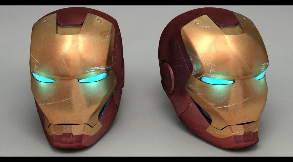 Model Iron Man 3d Modeling Iron Man Helmet